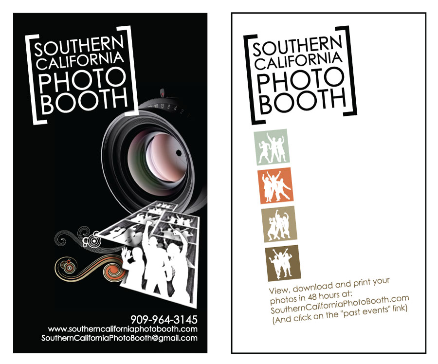 Popovic design print portfolio socal photobooth by jess block photobooth business cards reheart Image collections